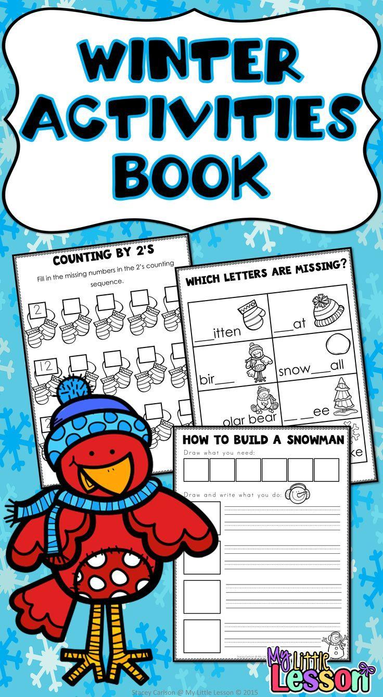 Winter Activities and Worksheets   Winter activities, Math ...