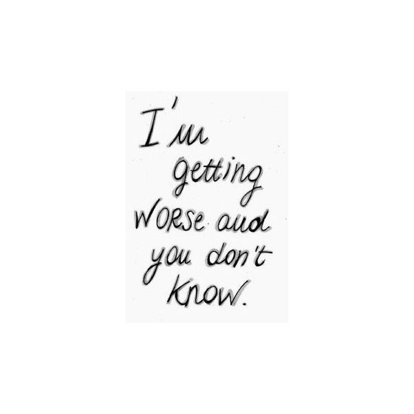 Depressed Quotes Depressing Quotes Are The Best Liked On Polyvore Inspiration Depressed Quotes