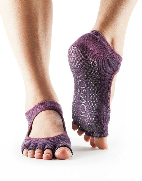 126a99df5 ToeSox Half-Toe Bella | Dusk | S$28. Available at Upside Motion City Hall &  Orchard Studio.