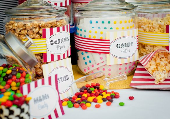 caitlins backyard movie party new party collection supplies - Outdoor Party Supplies