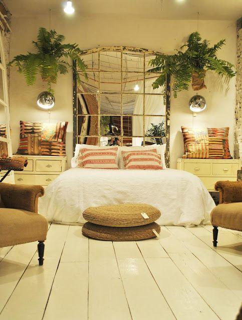 Inspiracion De Fin De Semana Espejos Antiguos Como Cabeceros De Cama Dormitorios Decoracion De Recamaras Modernas Diseno Interior De Dormitorio