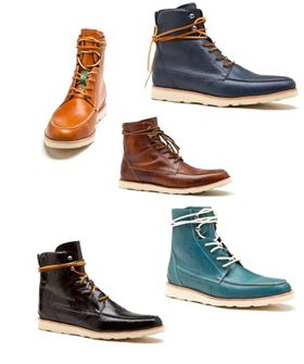 I'm dying for a pair of these George Esquivel hiking boots.  Too bad they're 900 bucks!