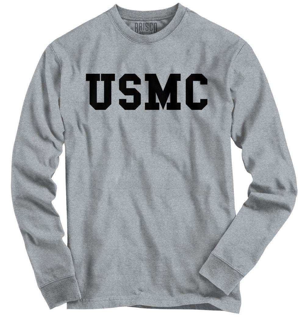 USMC Logo Long Sleeve TShirt Us army clothing, Navy