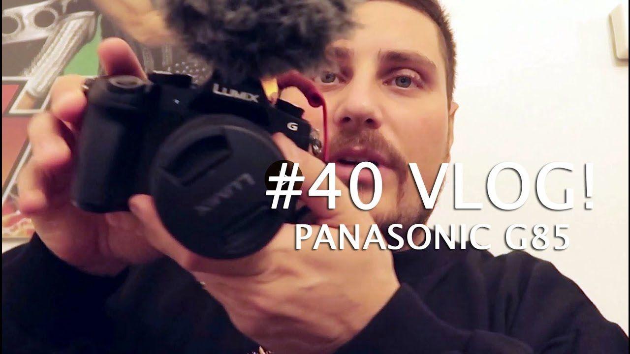 40 VLOG - Why do I vlog? new Panasonic Lumix g85 g81 g80 unboxing