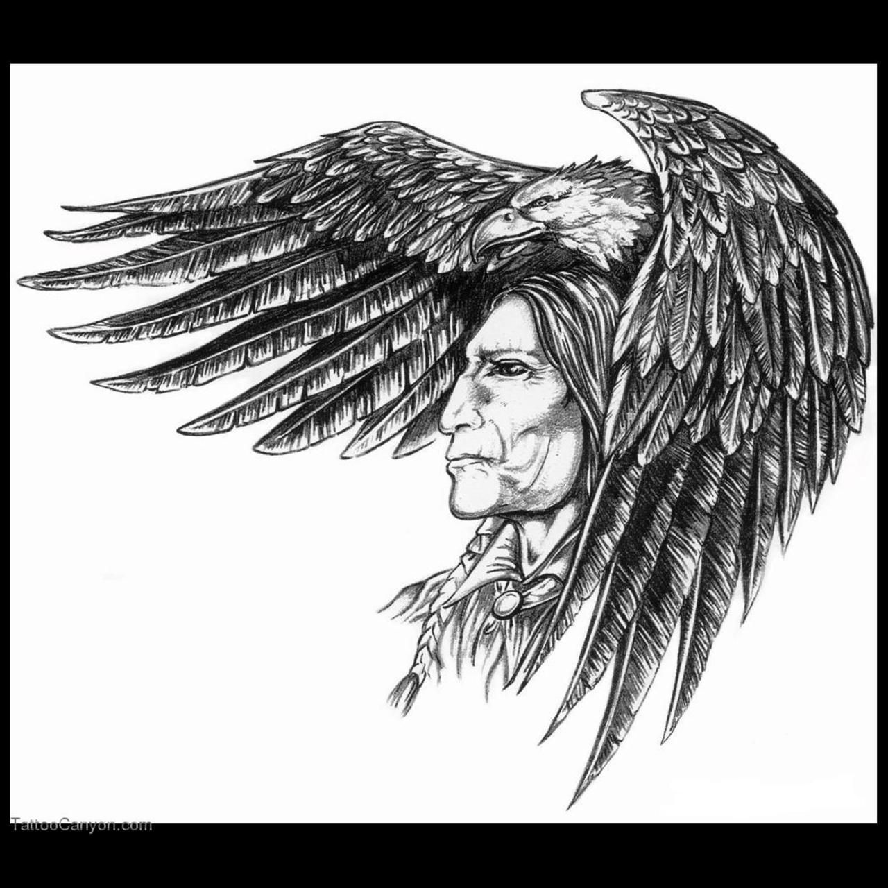 Cherokee tribal tattoos cherokee indian tribal tattoo pictures indian and eagle by llb und designs interfaces tattoo design buycottarizona