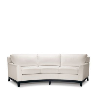 Beau Elite Leather Savoy Collection Ella Sofa | Bloomingdaleu0027s Just Might Be The  Perfect One To Compliment Round Coffee Table And Dealing With The Shortu2026