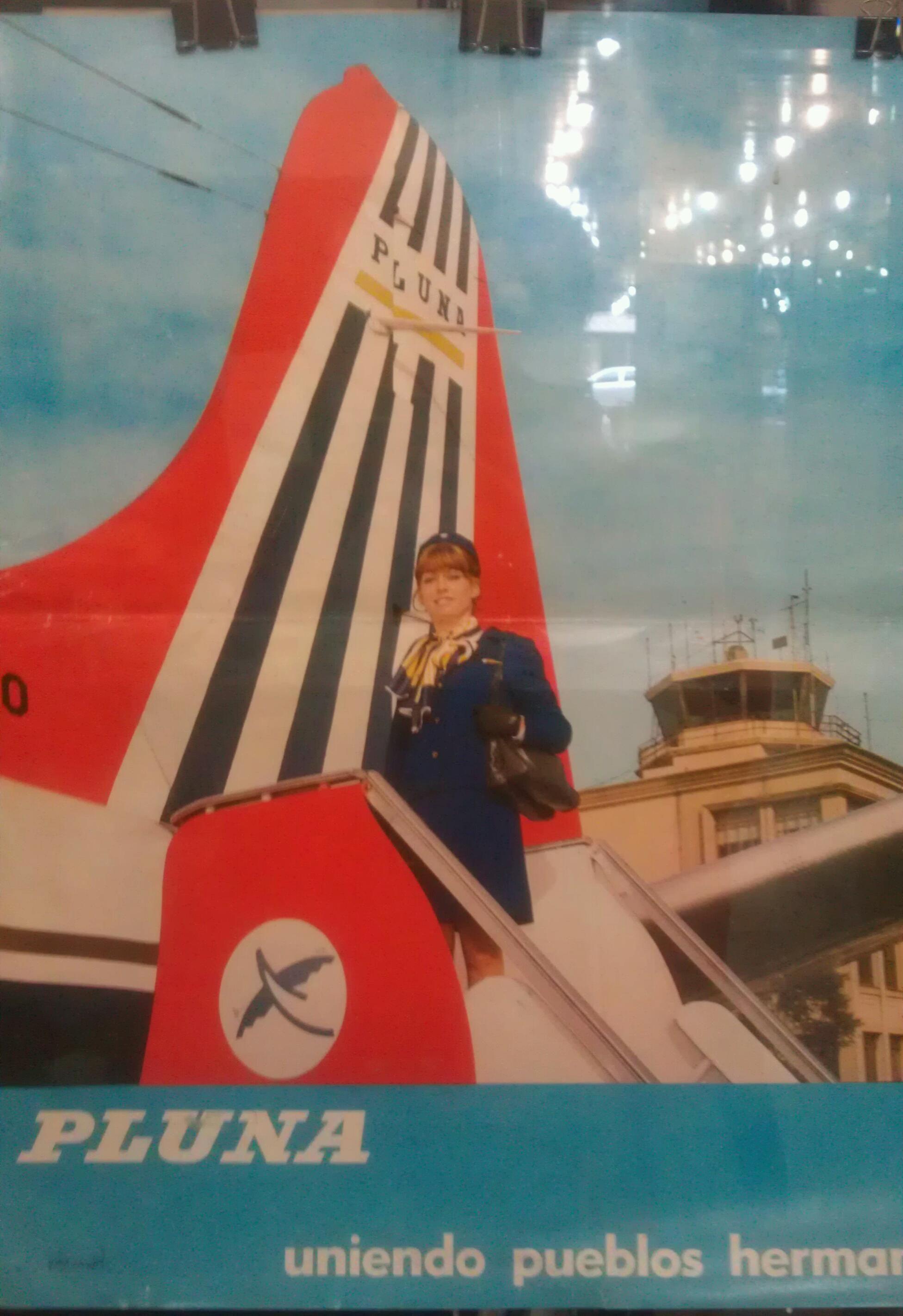 Afiche De Pluna Vintage Travel Posters Travel Posters Vintage Travel
