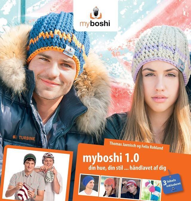 Myboshi -hæklet huesucces på dansk.