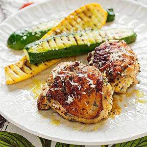 Mediterranean Lemon-Rosemary Chicken