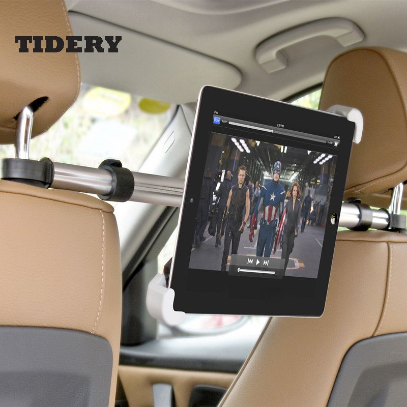 Universal Car Seat Headrest Stand Mount Holder for 7~11 inch Phone GPS Tablet