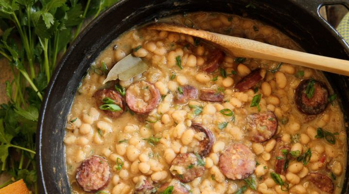 Photo of South Louisiana-Style White Beans & Rice :: Recipes :: Camellia Brand