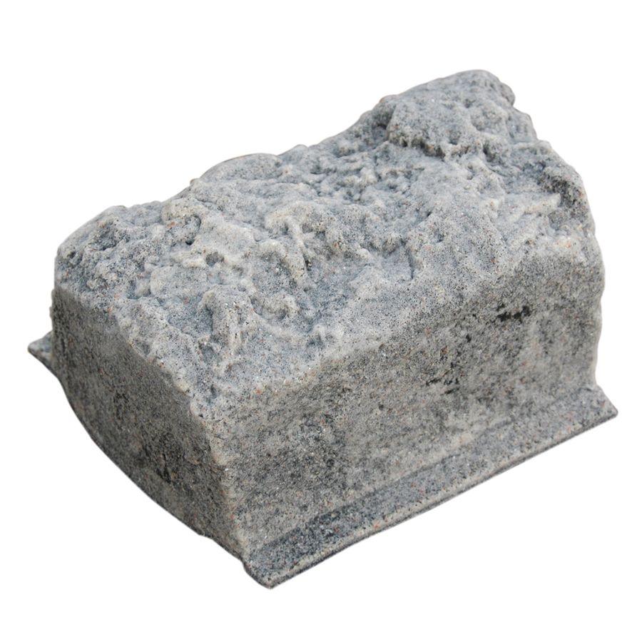 Dekorra Cottage Gray Edging Stone Common 10 In X 5 In Actual 10 In X 5 In Lowes Com Stone Edging Stone Border Edging Edging Stones