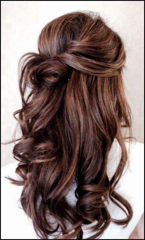 Romantische Braut Frisur Ideen 2018 Meine Frisuren Festliche Frisuren Lange Haare Frisuren Lange Haare Offen Brautfrisuren Lange Haare