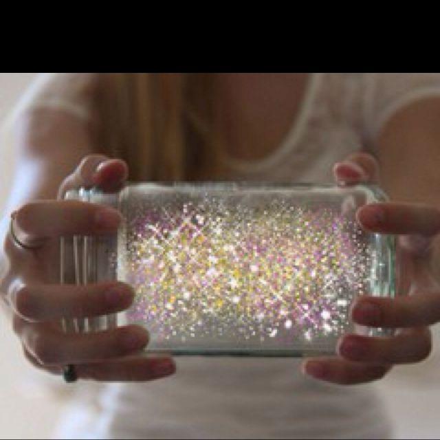 Ways To Make Jars That Glow Girls Room Decor Basteln Knicklichter Glitter Gläser