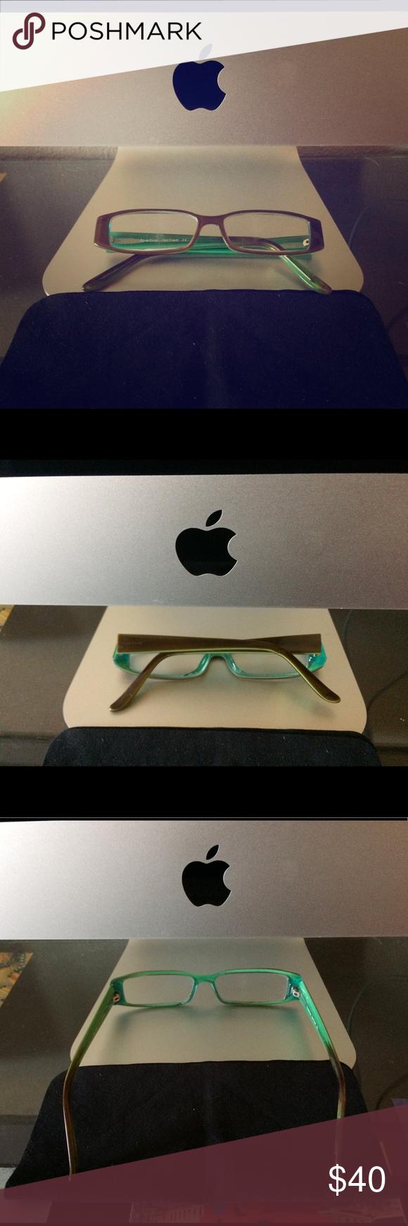 Bebe prescription eyeglasses Lenses show signs of use ...