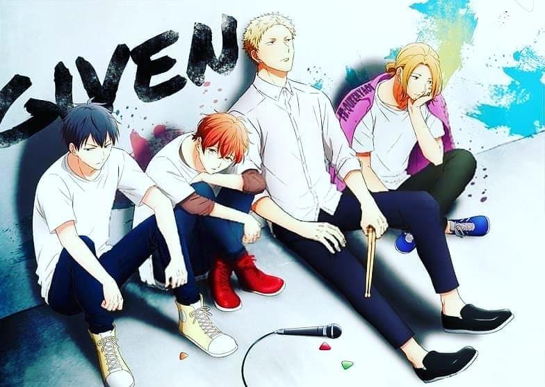 Given Anime | Anime, Otaku anime, Anime shows