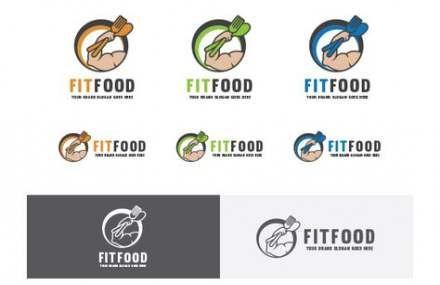 44 Ideas Fitness Food Logo Fonts #food #fitness