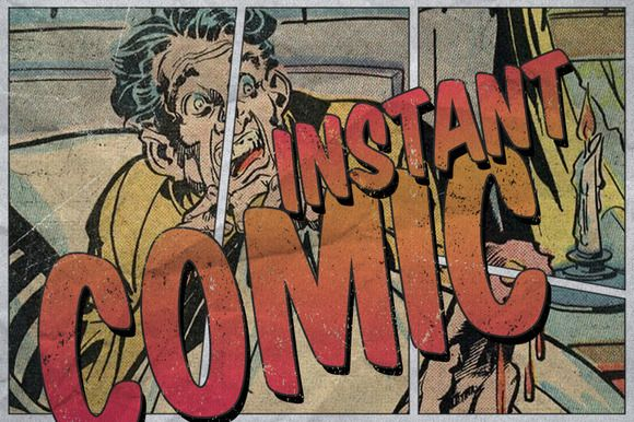 Check out Instant Comic! by VoxelFlux on Creative Market