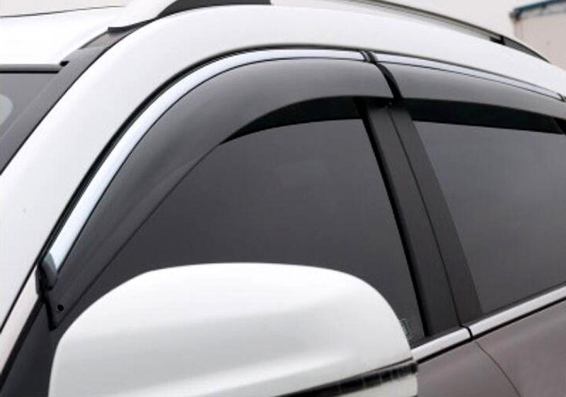 4pcs Window Visor Deflector Sun Rain Guard Shield For Audi Q5 2008 2015 Kia Sorento Kia Sorento 2016 Sorento