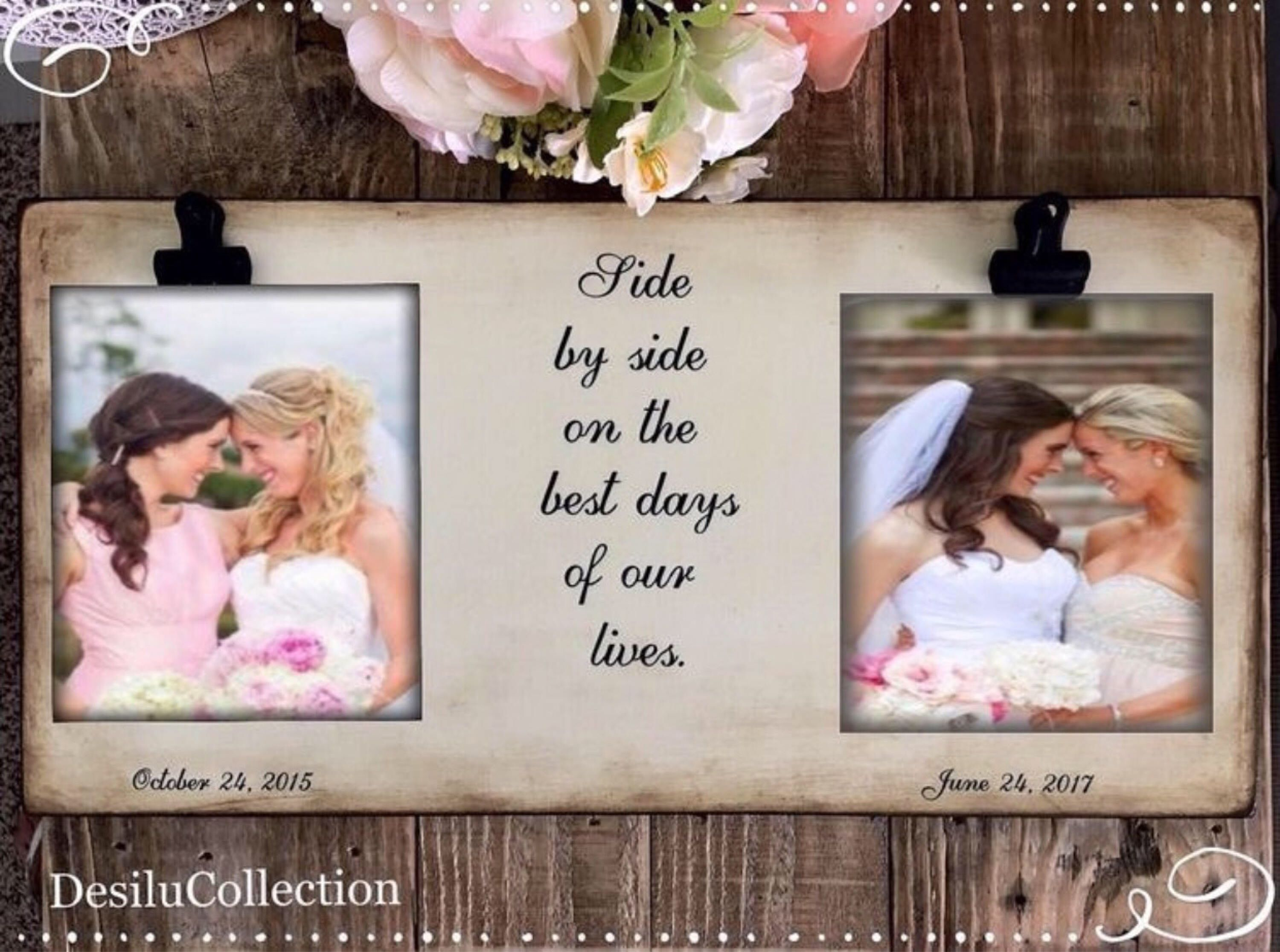 Wedding Gift Ideas For Bride And Groom From Friends: Pin By Rustic Gift Frames + Signs On Rustic Wedding- In