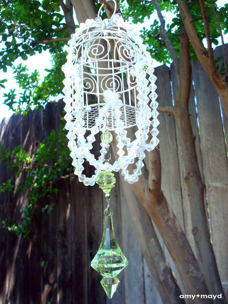 DIY mini crystal chandelier | Chandelier diy crystal, Diy ...