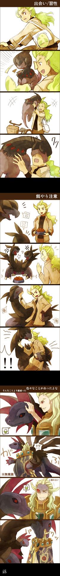 Ghetsis Daw! Preventing the King of Team Plasma can resist loving Pokemon XD