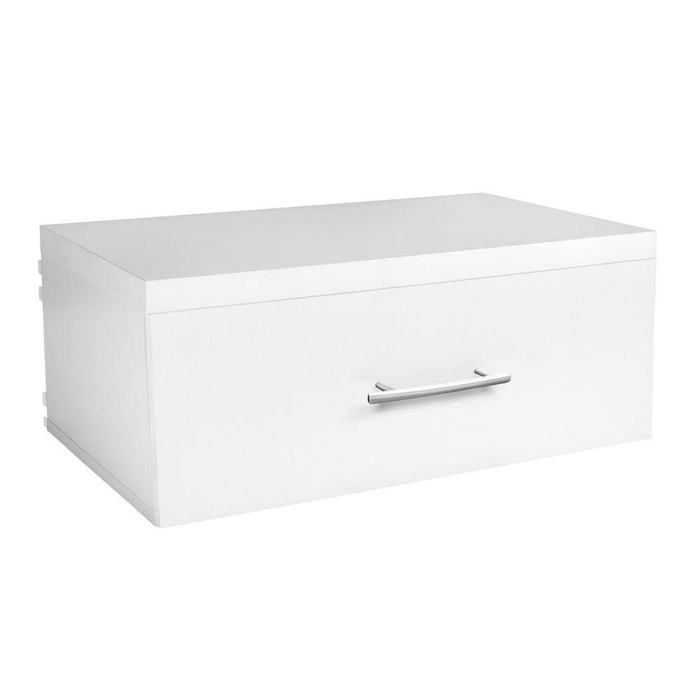 ClosetMaid Elite 9-3/4 in. Drawer in White | Drawers, Base cabinets ...
