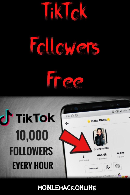 Tiktok Followers Free Heart App How To Get Followers Free Followers On Instagram