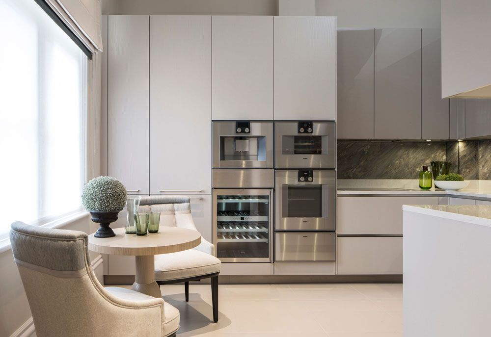 Sleek Kitchen Designed To Accommodate Diningrosalind Wilson Adorable Interior Design Of The Kitchen Design Decoration