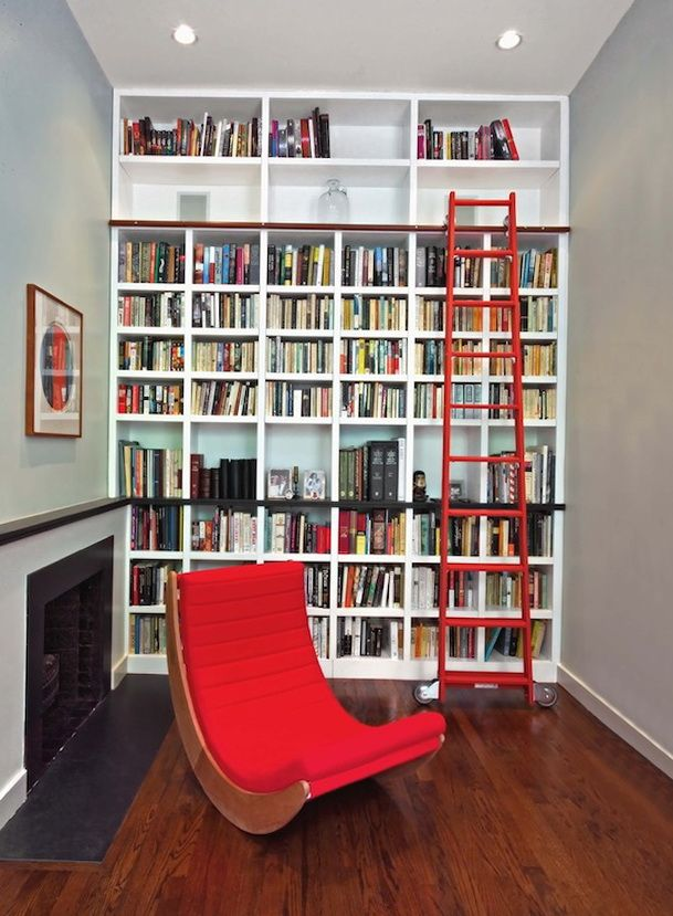 Fascinating Library Styles For Contemporary Home architecture