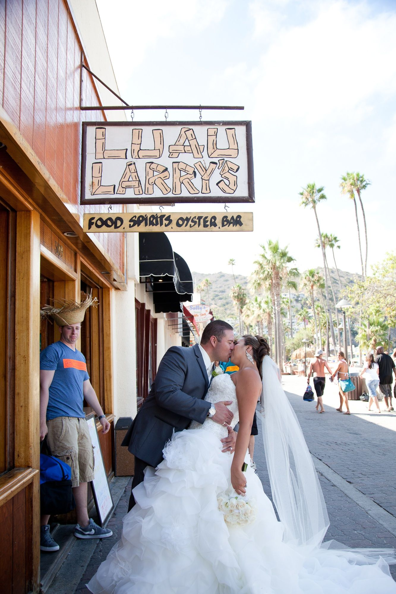 Luau Larry's, Catalina Island, wedding fun! (With images