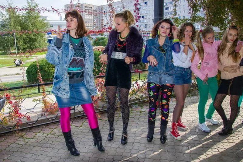 мода 90-х годов фото одежда девушки в ссср: 6 тыс ...