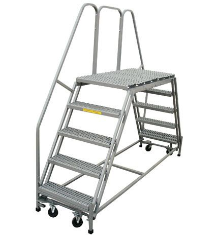 The Double Entry Rolling Platform Is Ideal For Rolling Up Against A Wall Or Workspace Http Maintenanceplatforms Net Wo Work Platforms Double Entry Platform