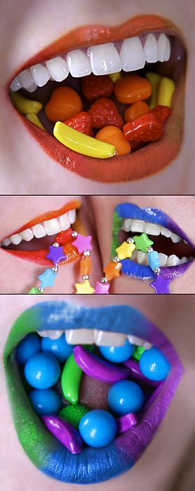 mouth pictureswondering what the appeal is does it make us want to buy the candy - Buy Candy By Color