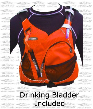Details About Solution Quest Hydration Life Jacket Sea Kayak Pfd Water 1 5l Bladder Vest Xs S