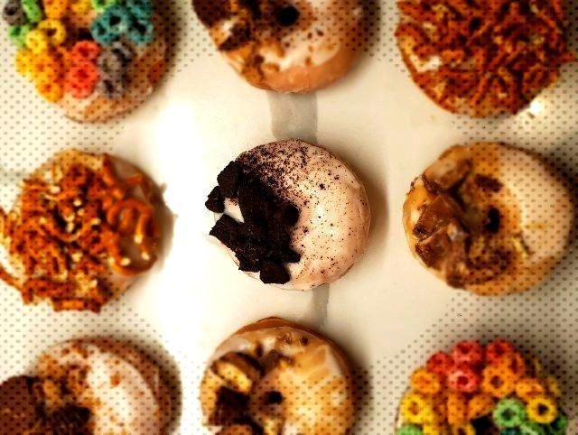 Sugar-hound: I made donuts again -