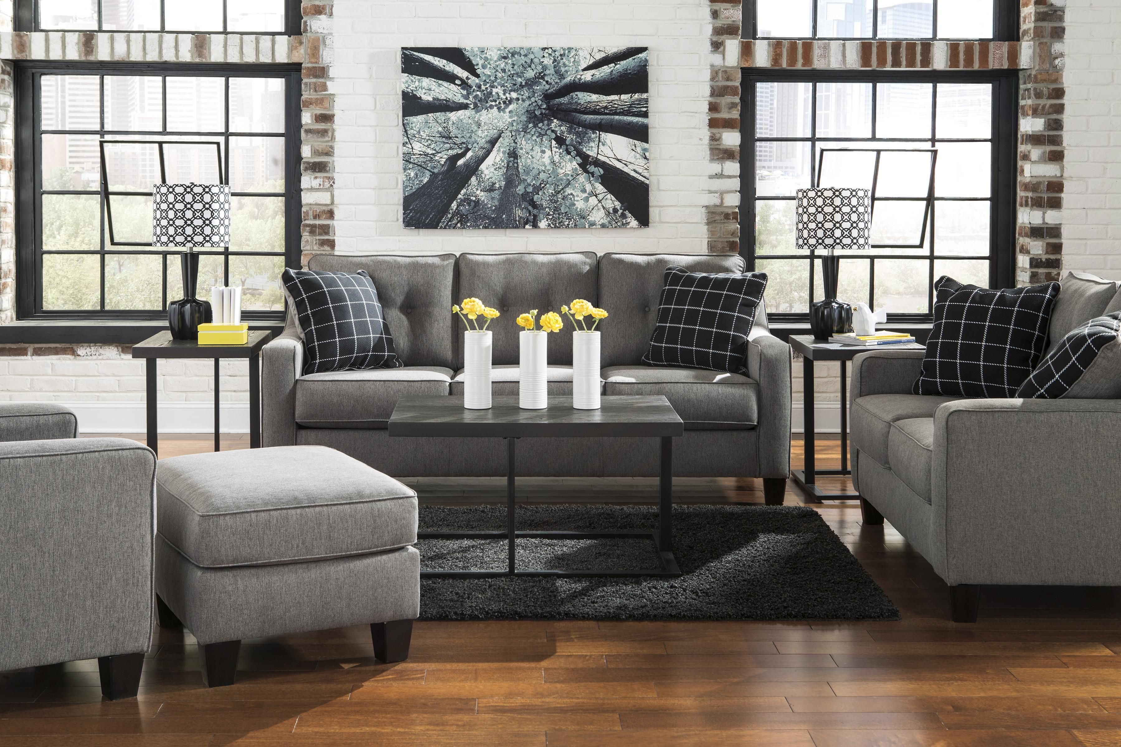 Stationary Living Room Group By Benchcraft Wolf And Gardiner Wolf
