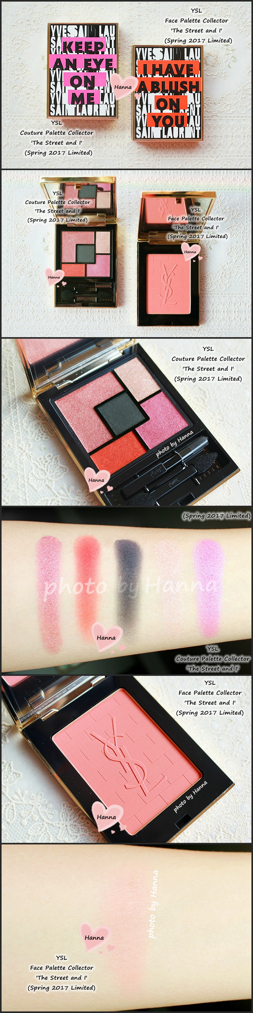 Ysl the street and i eyeshadow palette and face palette from the ysl the street and i eyeshadow palette and face palette from the street art ccuart Gallery