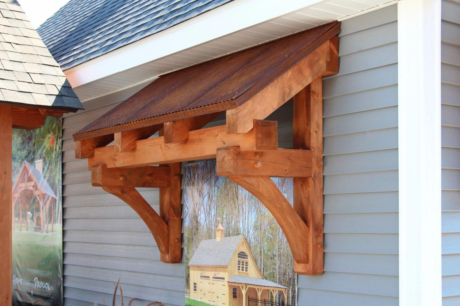 Pergola Front Of House Post2062383539