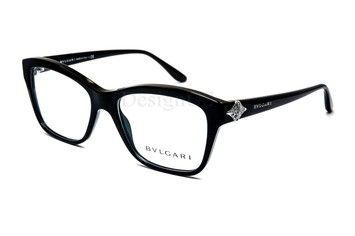 5cf01abf204 New Bvlgari Eyeglasses Black with swarovski crystals. Get the lowest price  on New Bvlgari Eyeglasses Black with swarovski crystals and other fabulous  ...