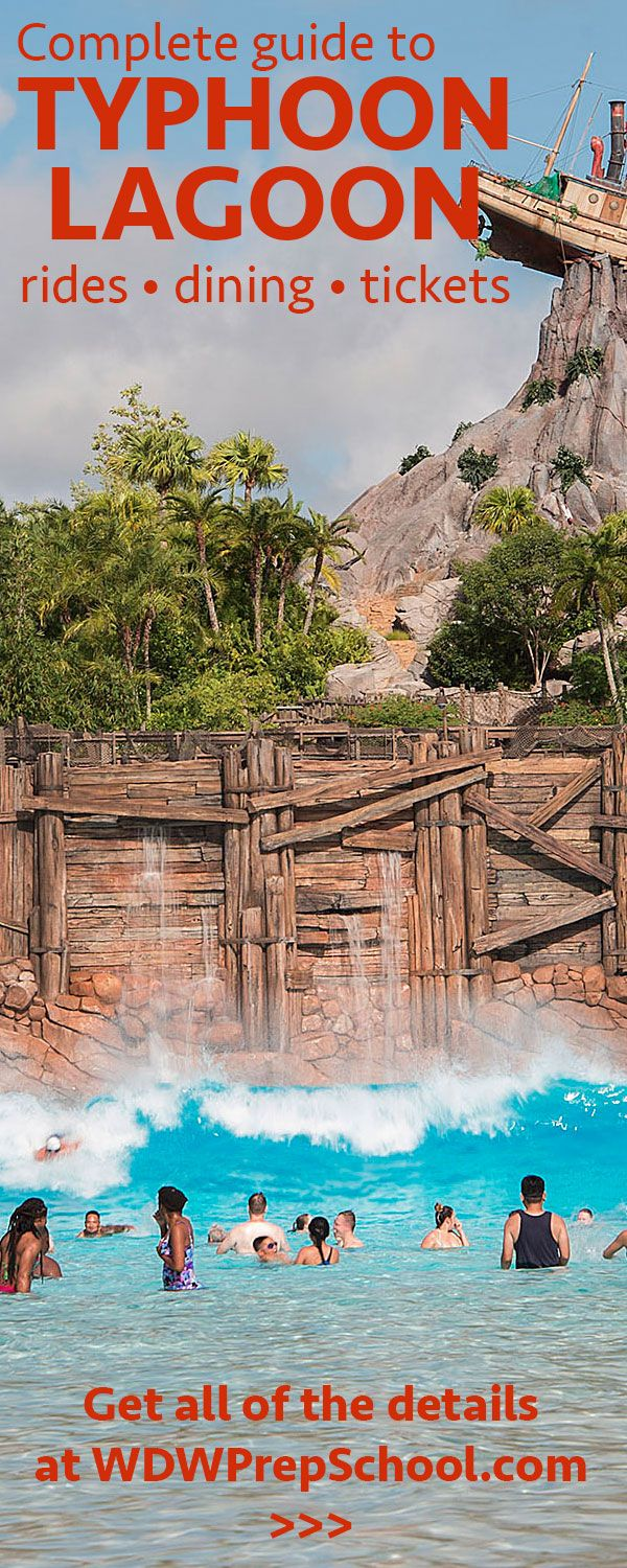 Complete guide to Typhoon Lagoon (including rides, dining