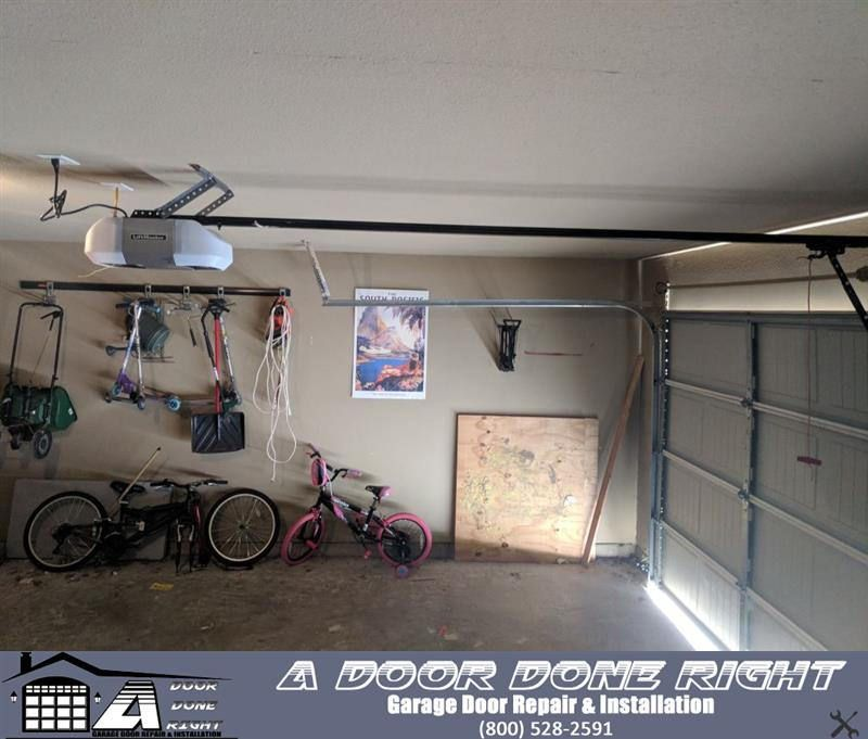 A Door Done Right Has Replaced A 12 Year Old Garage Door Opener With A Top Of The Line Residential Liftmaster Old Garage Garage Doors Garage Door Opener
