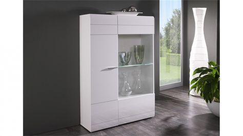 Elegant Wohnzimmer Vitrine Weiß | Wohnideen | Pinterest