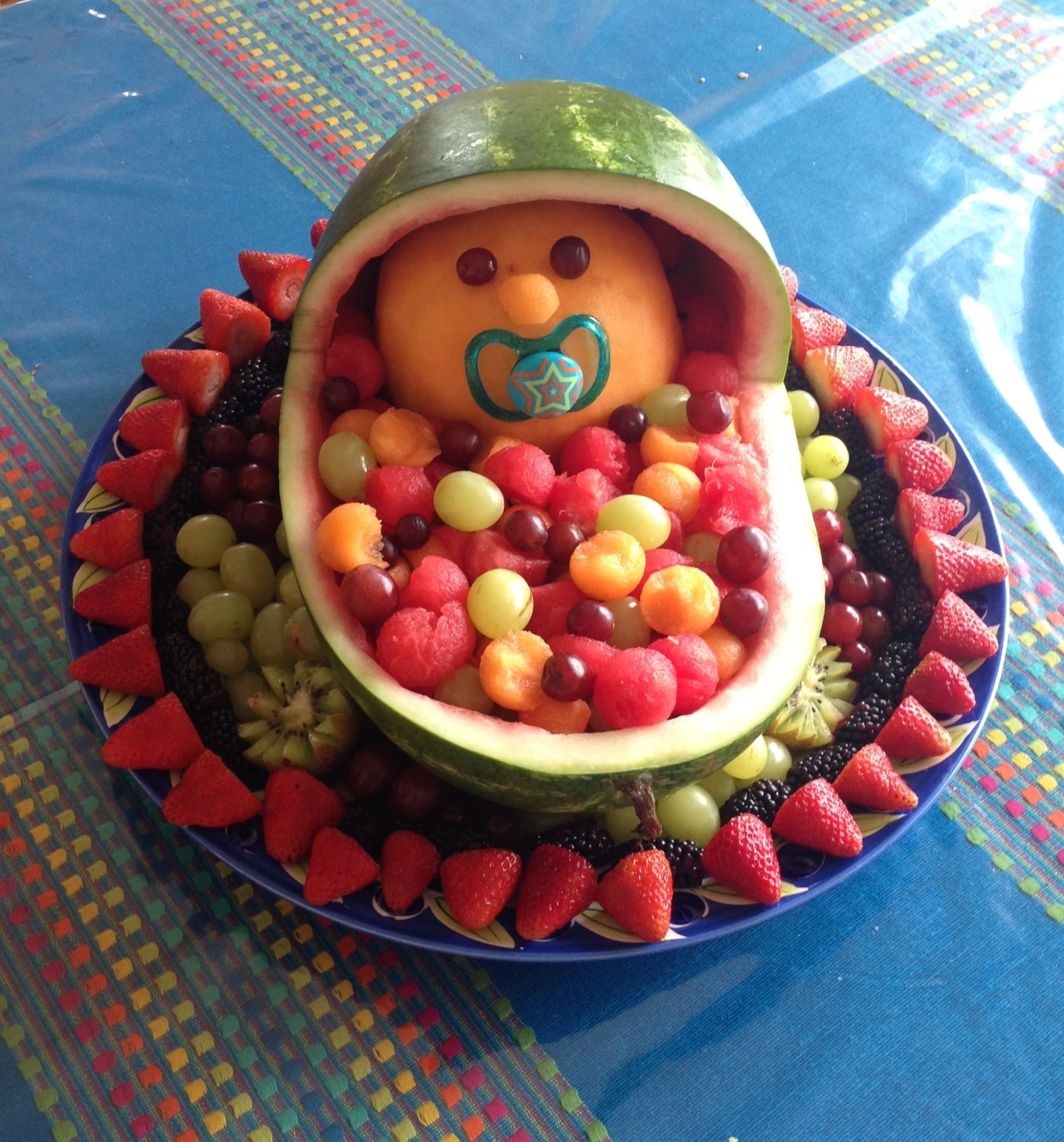 Fruit Platter For Baby Shower