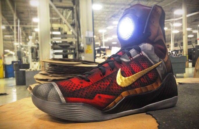 """Mach customs"" Iron Man Nike Kobe Elite 9"
