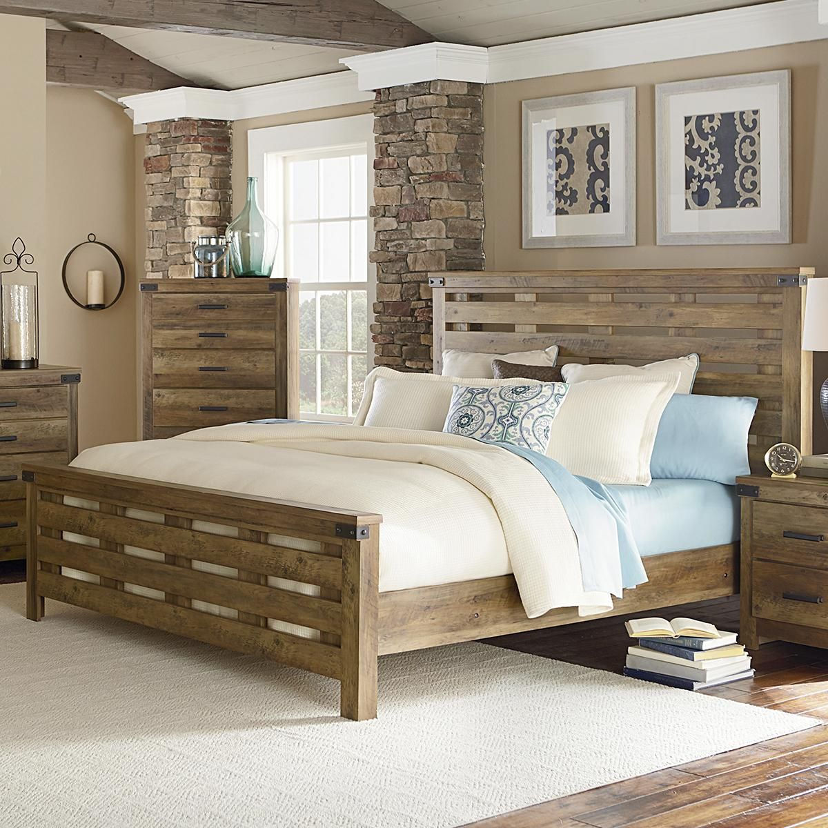 Product Main Image 0 Rustic bedroom design, Standard