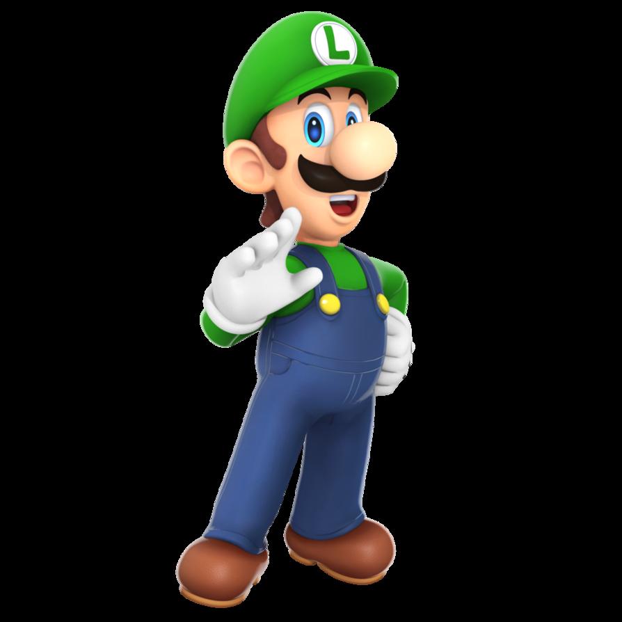 Luigi Render 2016 By Nibroc Rock Luigi Mario Mario Characters