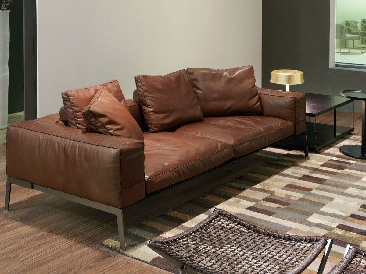 Flexform Lifesteel Sofa Best Price Leather Sofa Deep Sofa Sofa Design