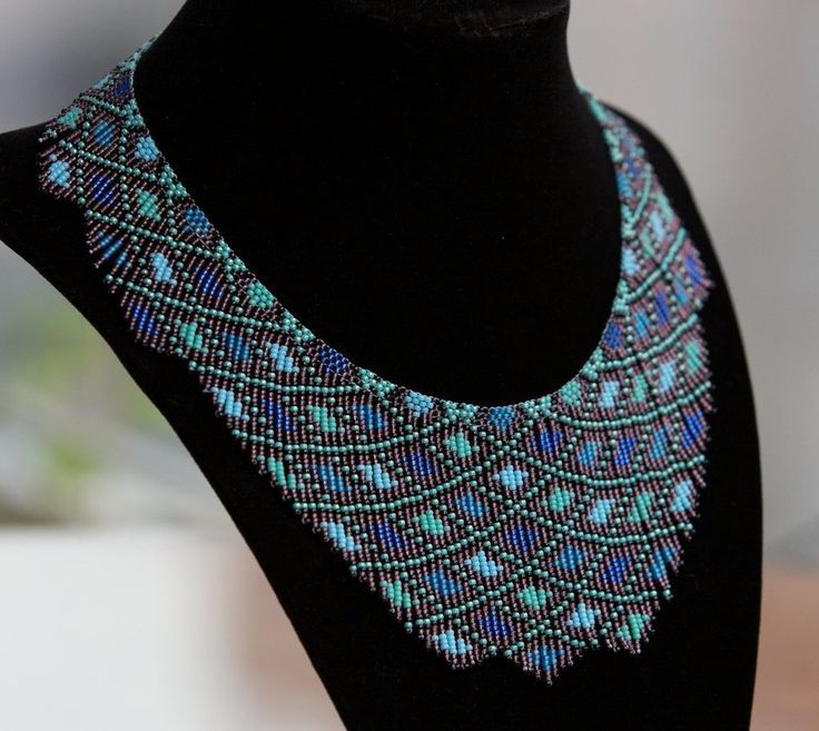 Free Printable Seed Bead Patterns | free seed bead necklace ...