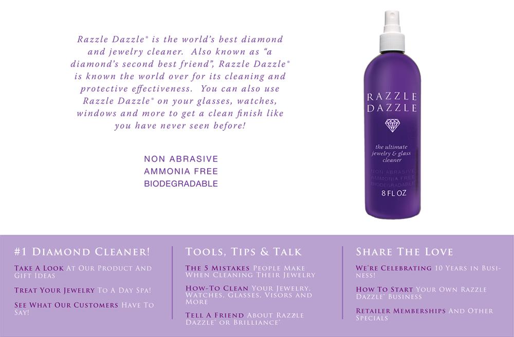 Razzle Dazzle Jewelry and Diamond cleaner | Body jewelry ...